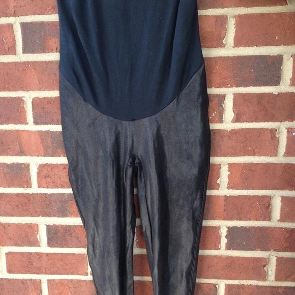 d61b4701ebdba SPANX Mama Maternity Faux Leather Leggings. M_5c51c6b3f63eea9ca234730e